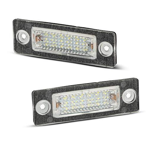 Kennzeichenbeleuchtung kompatibel mit Superb Octavia Caddy T5 Transporter LED Kennzeichen Beleuchtung Nummernschildbeleuchtung
