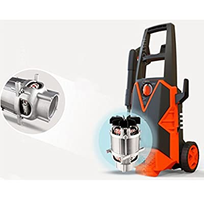 Pressure Washer Car 1100W High Pressure Washer With Accessories Outdoor Home Patio Car Cleaner 90Bar Max Pressure by Yang