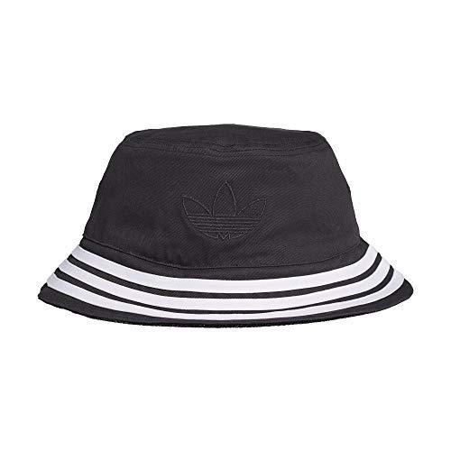 adidas Velvet Bucket Hat, Black/MGH solid Grey, OSFL
