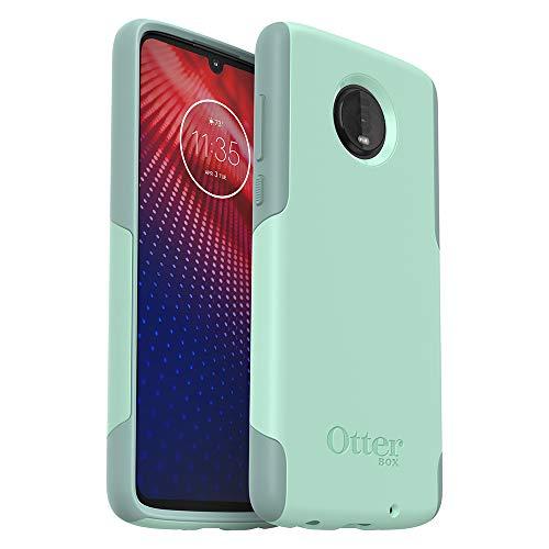 OtterBox Commuter LITE Series Case for Moto Z4 - Retail Packaging - Ocean Way (Aqua SAIL/Aquifer)
