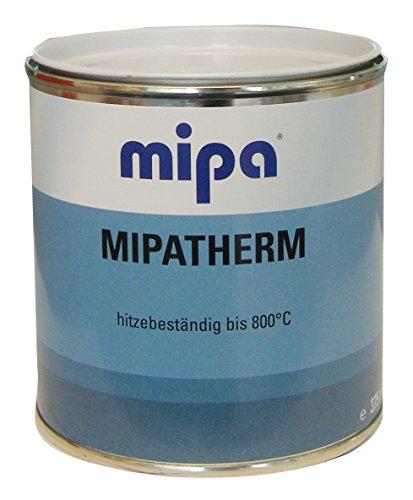 (36€/l) Mipatherm hitzebeständiger Lack schwarz