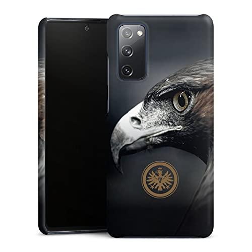 DeinDesign Premium Hülle kompatibel mit Samsung Galaxy S20 FE Smartphone Handyhülle Hülle matt Eintracht Frankfurt Offizielles Lizenzprodukt Adler