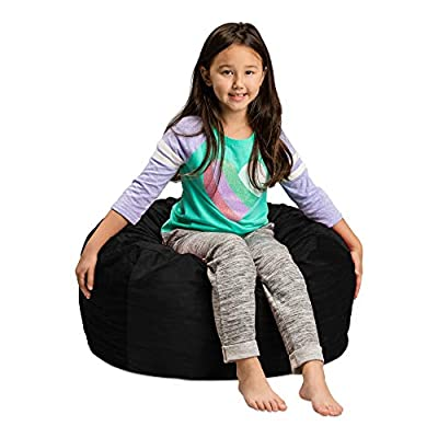 Sofa Sack - Plush, Ultra Soft Kids Bean Bag Chair - Memory Foam Bean Bag Chair with Microsuede Cover - Stuffed Foam Filled Furniture and Accessories for Kids Room