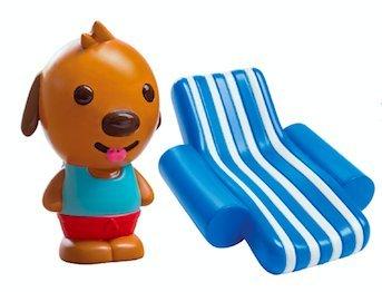 SAGO mini Pool Party Juguetes de Baño, Multicolor (Spin Master 6041219 Harvey)