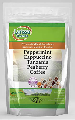 Peppermint Cappuccino Tanzania Peaberry Albuquerque Mall Coffee Gourmet Indefinitely Natural