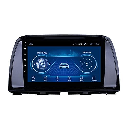 BIEKANNM Car Stereo Audio Auto Media Bluetooth Car Digital - Aplicable para Mazda CX-5 2012-2016, Navegación GPS Radio Unidad Principal Reproductor Multimedia FM 9 Pulgadas,4 Core-WiFi: 2+32G