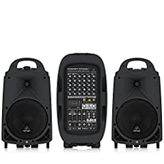Ultra-compact 2000-Watt, 8-channel portable PA system.Four Mic Preamps with 48 volts Perfect for parties, schools, corporate and educational presentations, seminars, aerobics, auctioneers, working musicians, tour guides, weddings, etc. Enormous power...