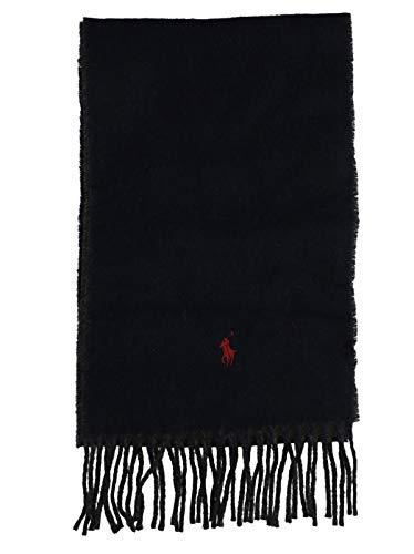 Ralph Lauren Mod. 449775966 Sjaal Fringes Dubbele Kleur Unisex Blauw - Grijs