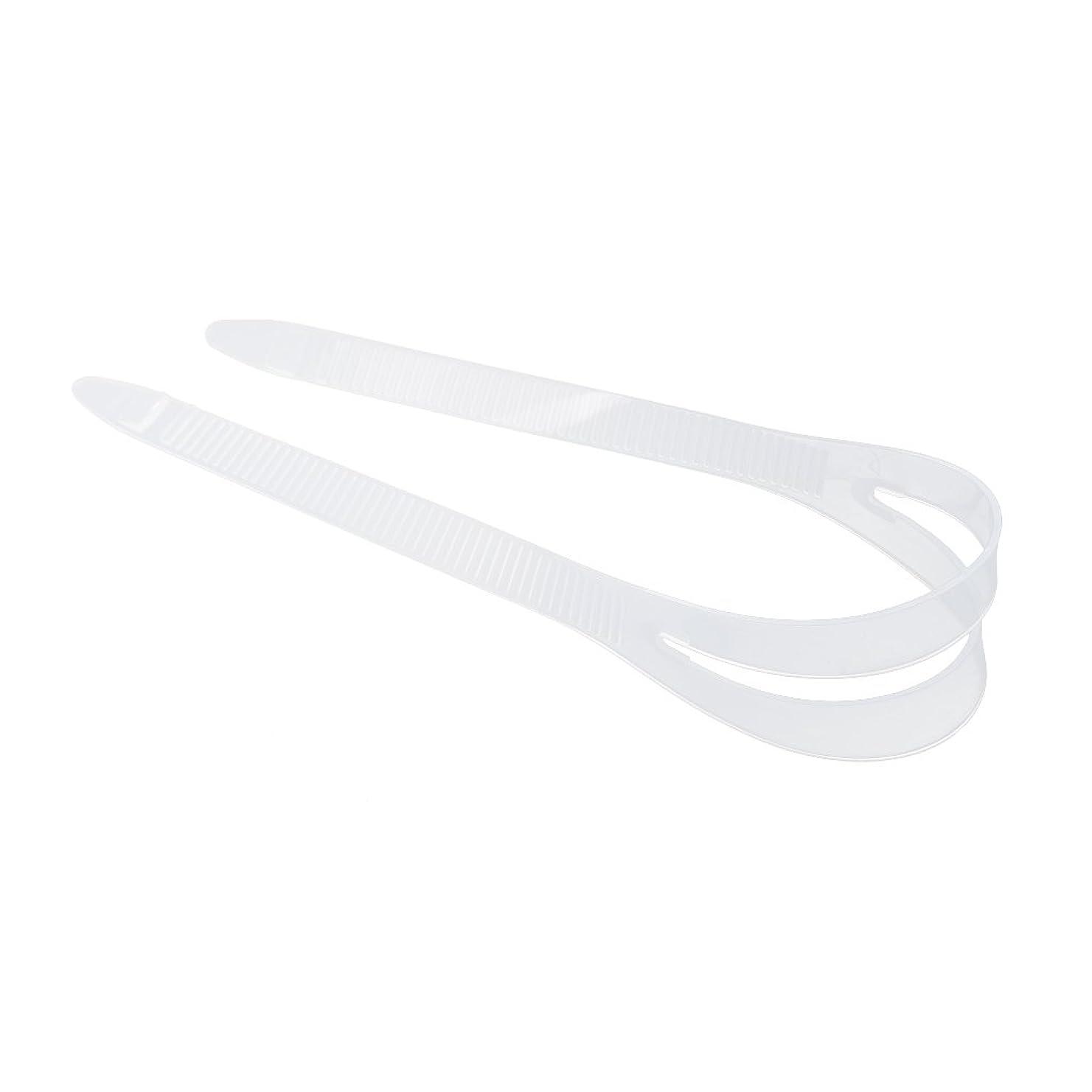 ピル利得一般的に言えばノーブランド品  全2色2サイズ シリコン スキューバ ダイビング シュノーケリング マスクストラップ カバー 交換用