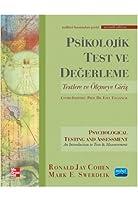 PSIKOLOJIK TEST VE DEĞERLEME - Psychological Testing and Assessment