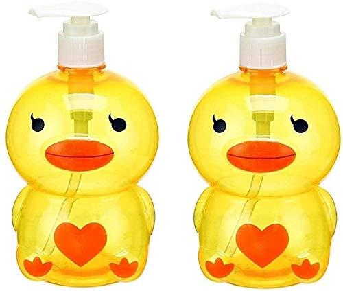 HLZY Dispensadores de jabón de encimera de baño, Botella de jabón de Marsella dispensador de la loción Botella Linda de la Fiesta de jabón Mano Creativa del Gel champú Cosméticos Sub-Botella Cocina
