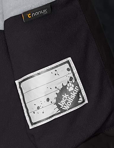 Jack Wolfskin Kid's Snowy Days Jacket, black, S