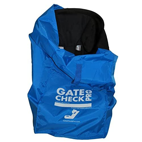 Gate Check PRO | Borsa da viaggio per seggiolino | Nylon balistico ultra-resistente | Taglia unica | Protegge il seggiolino da e i supporti quando si vola con i bambini (realizzata dal marchio #1)