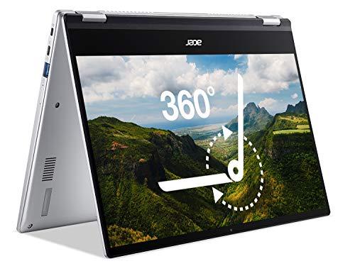 Acer Chromebook Spin 514 CP514-1H - (AMD Ryzen 3 3250C, 4GB RAM, 128GB eMMC, 14 inch Full HD Touchscreen Display, Chrome OS, Silver)
