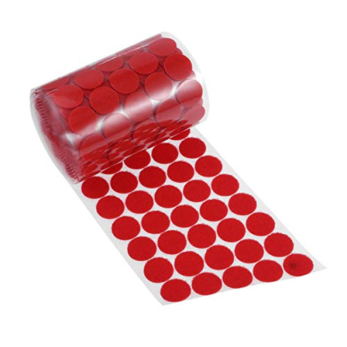 Discover Bargain SUPVOX 1000 Pcs 20mm Magnetic Dots Tape Magnetic Round Back Sticky Tapes Self Adhes...