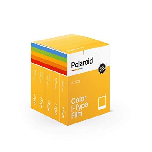 Polaroid - 6010 - Pellicola istantanea colore per i-Type - 5 confezioni - 40 foto