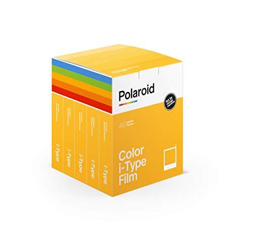 Polaroid - 6010 - Sofortbildfilm Farbe fûr i-Type – 5 Packs - 40 Fotos