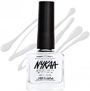 Nykaa Top Coat Nail Enamel - Sugar Syrup, No. 105 (9ml)