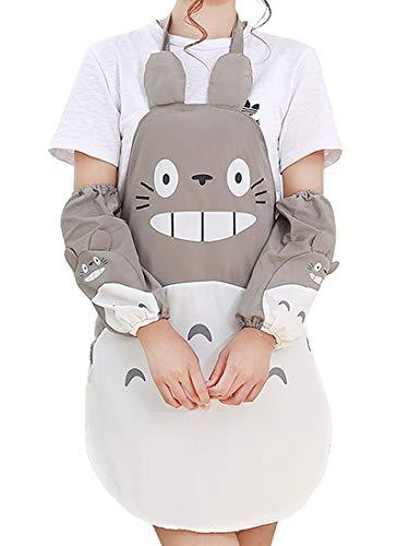 CoolChange Grembiule Impermeabile di Totoro con Manicotti