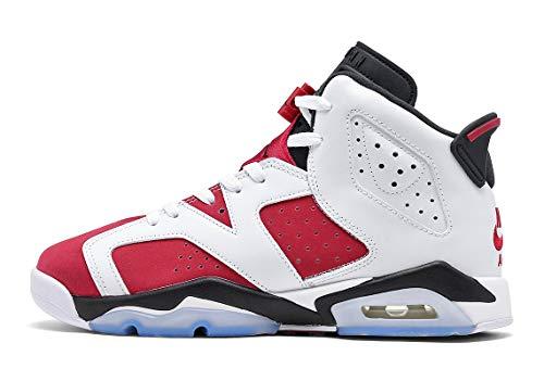 Nike Youth Air 6 Retro GS 384665 106 Carmine - Size 7Y