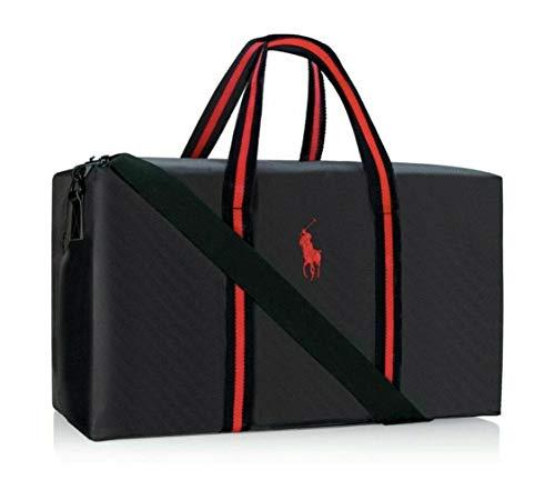 Ralph Lauren Polo Negro Bolsa de viaje grande para fin de semana