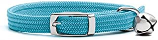 Petlife Elastic Cat Collar, Blue