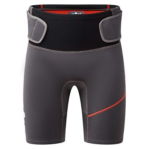 Gill Mens Zenlite 2mm Flatlock Neopren Neoprenanzug Shorts - Graphite - Thermal Warm Heat Layer Layer