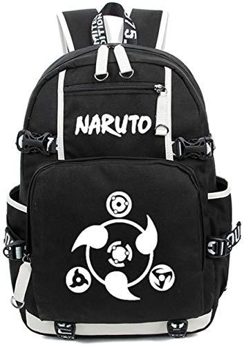 YOYOSHome Anime Naruto Cosplay Rucksack Daypack Bookbag Laptop Rucksack Schultasche mit USB-Ladeanschluss