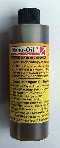 """NanoLube Nano-Oil Anti Friction """"Gasoline Engine"""" Nano Technology Additive"""