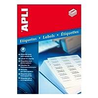 【APLI】コピーA4ラベル100枚16面 (AP-02429)