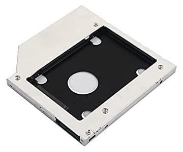 DeYoung 2nd SATA Disco Duro HDD SSD caso bandeja Caddy para HP 250255450470G4G5G6reemplazar gud1N DVD Odd