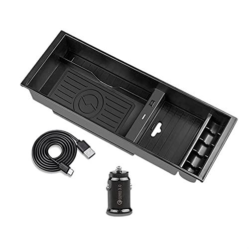 IENPAJNEPQN Cargador inalámbrico Teléfono inalámbrico Placa de Carga Accesorios Centro Center Console Box Box para Ford F-150 2015-2020