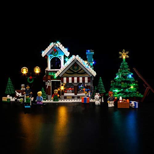 Nlne Kit De Iluminación Led para Creator Winter Toy Shop - Compatible con Ladrillos De Construcción Lego Modelo 10249(NO Incluido En El Modelo)