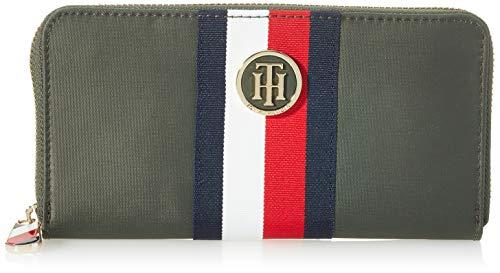 Tommy Hilfiger AW0AW07437 Damen Geldbörse Poppy Large Zip, 19 x 2 x 10 cm