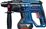 Bosch Professional 18V System Akku Bohrhammer GBH 18V-20 (SDS Plus, Schlagenergie: 1,7 Joule,...