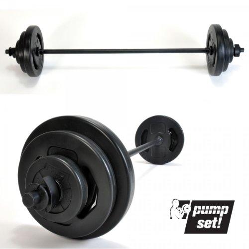 Pumpset!! - Set per Sollevamento Pesi, 20 kg