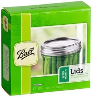 Ball cheap Ranking TOP19 Jars Wide Mouth 12 Pack Lids