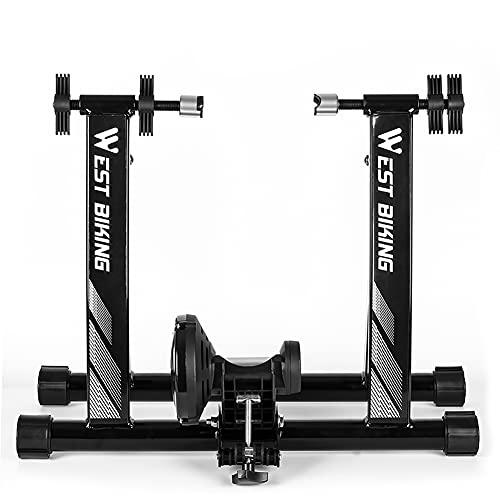 Flytise Bicicleta estática de interior, equipo de fitness para bicicleta de montaña