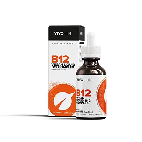 Vivo Life - Veganer B12 Flüssiger Komplex - 60ml