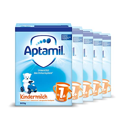 Aptamil Kindermilch 1+, 5er Pack (5 x 600 g)
