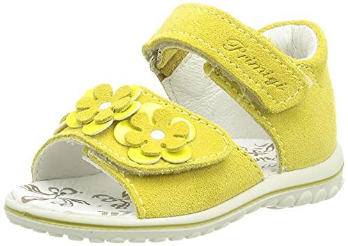 Primigi Baby-Mädchen PSW 73751 Sandal, Giallo, 20 EU