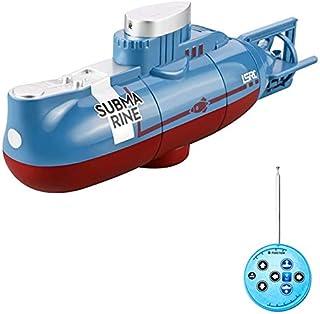 Nrpfell Modello di Sottomarino RC Barca Telecomandata Impermeabile Immersione Subacquea Telecomando Simulazione Regalo Gio...