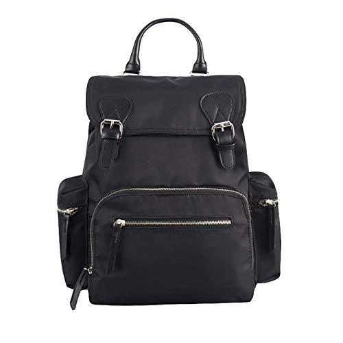 Yao rack Sac de Remplacement pour bébé Grande capacité Sac à Langer imperméable Confortable Multi-Function Mode Casual Maman Out Travel Backpack,Black