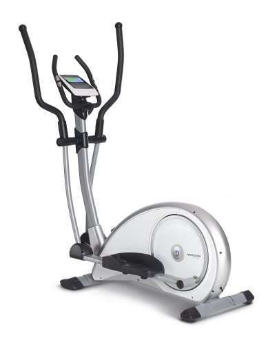 Horizon Fitness Crosstrainer Syros Pro, weiß/Silber, 100690