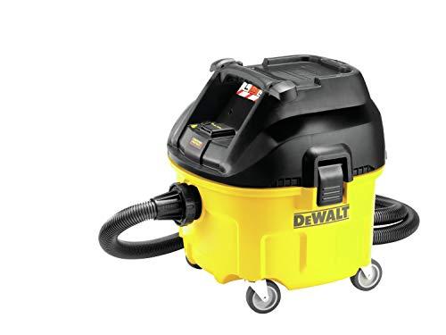 DeWalt Industrie Nat- en droogzuiger/kuipzuiger (1,400 watt, met automatische filterreiniging, klasse L, twee filtersysteem, incl. AirLock-adapter en zuigzak) DWV901L