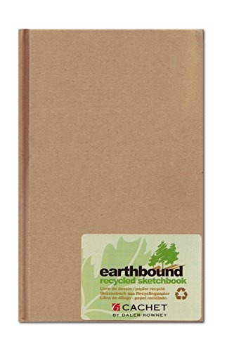 Daler Rowney Erdgebundener Recycling Skizzenbuch A5