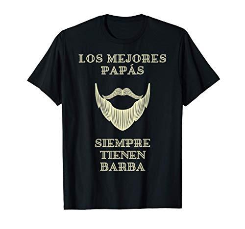 Papá Fresco y Barbudo - Papá con barba - Día del Padre Camiseta
