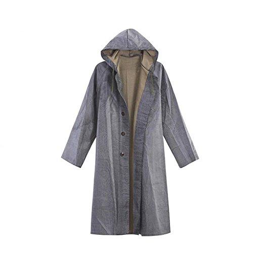 Raincoat FEIZIGummiregenmantel mit Ärmeln, verdickter, langlebiger Segeltuchregenmantel, Alter Gummiregenmantel