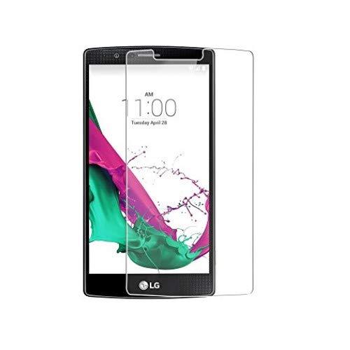 WEOFUN 3 Unidades Cristal Templado LG G4, Alta Definición Protector de Pantalla para LG G4 H815 Vidrio Templado [0.33mm 9H Dureza 5,5 Pulgadas]