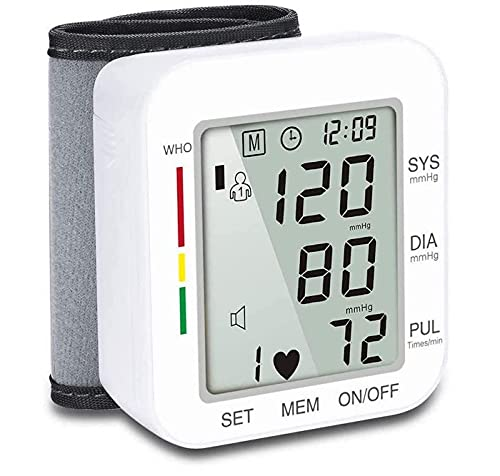 Blood Pressure Monitor for Home Use, Wrist Blood Pressure Machine,...